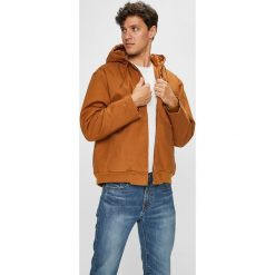 DC - Kurtka. Szare kurtki męskie przejściowe marki DC, l, z bawełny, z kapturem. Za 599,90 zł.