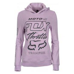FOX Bluza Damska Throttle Maniac M Fioletowy. Fioletowe bluzy rozpinane damskie FOX, m, z bawełny. Za 245,00 zł.