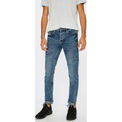 Only & Sons - Jeansy Loom Camp. Niebieskie jeansy męskie slim Only & Sons, z bawełny. W wyprzedaży za 79,90 zł.