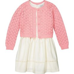 Sukienki dziewczęce: Komplet sukienka + sweter 3-12 lat