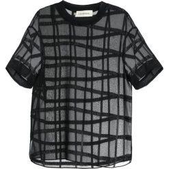 By Malene Birger OPHEELIA  Bluzka black. Czarne bluzki asymetryczne By Malene Birger, z materiału. W wyprzedaży za 399,50 zł.