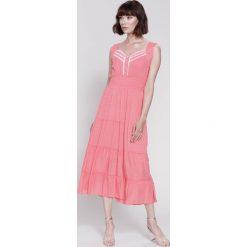 Sukienki: Koralowa Sukienka Colours of Summer