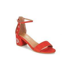 Sandały Betty London  INNUMUTU. Brązowe sandały damskie marki Betty London. Za 231,20 zł.
