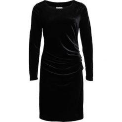 Kaffe KELLY Sukienka koktajlowa black deep. Czarne sukienki koktajlowe Kaffe, xs, z elastanu. Za 379,00 zł.