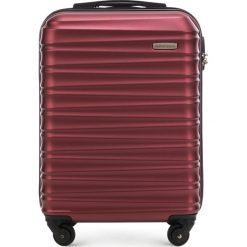 Walizka kabinowa 56-3A-311-30. Czerwone walizki marki Wittchen, z gumy, małe. Za 159,00 zł.