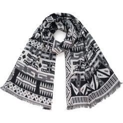 Szaliki damskie: Art of Polo Szal damski Aztecka bawełna czarny