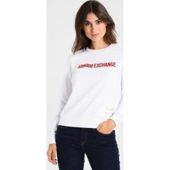 Bluzy damskie: Armani Exchange Bluza white