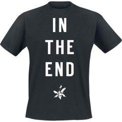 Linkin Park In The End T-Shirt czarny. Niebieskie t-shirty męskie marki Reserved, l, z okrągłym kołnierzem. Za 74,90 zł.