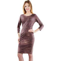 Sukienki hiszpanki: Sukienka w kolorze brązowym