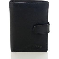 Portfele męskie: Skórzany portfel męski Bag Street  Czarny