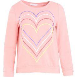 Różowa Bluza Just Flexing. Czerwone bluzy damskie Born2be, xl, z aplikacjami. Za 24,99 zł.