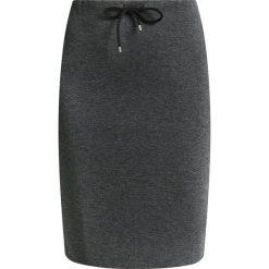 Spódniczki: Opus RASCHJA STRUCTURE Spódnica ołówkowa  slate grey melange