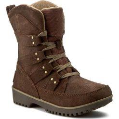 Śniegowce SOREL - Meadow Lace NL2208 Tobacco 256. Brązowe buty zimowe damskie Sorel, z gumy. W wyprzedaży za 249,00 zł.