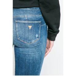 Guess Jeans - Jeansy Curve X. Niebieskie jeansy damskie Guess Jeans. Za 469,90 zł.
