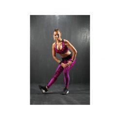 Topy sportowe damskie: TOP PUSH-UP ETNO – pink