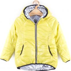 Kurtka. Żółte kurtki dziewczęce marki B'TWIN. Za 79,90 zł.