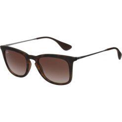 RayBan Okulary przeciwsłoneczne dark brown. Brązowe okulary przeciwsłoneczne damskie aviatory Ray-Ban. Za 539,00 zł.