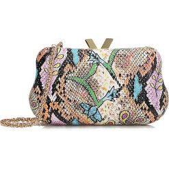 Torby i plecaki: Multikolorowa kopertówka damska
