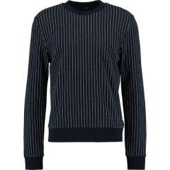 Calvin Klein KALI PINTSTRIPE Sweter blue. Niebieskie kardigany męskie Calvin Klein, l, z bawełny. W wyprzedaży za 384,30 zł.