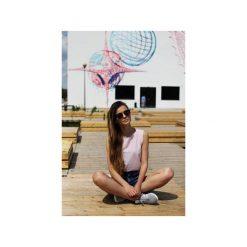 Topy damskie: Top Dziewczyna Surfera jasny róż