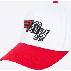 Tommy Hilfiger - Czapka Gigi Hadid. Czarne czapki z daszkiem damskie marki TOMMY HILFIGER, z bawełny. W wyprzedaży za 129,90 zł.