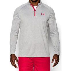 Under Armour Koszulka męska TECH 1/4 ZIP szara r. M (1242220-026). Szare koszulki sportowe męskie marki Under Armour, z elastanu, sportowe. Za 113,98 zł.