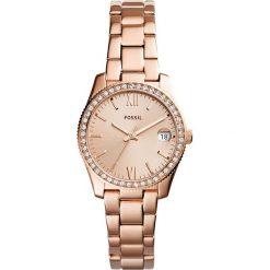 Zegarek FOSSIL - Scarlette ES4318 Rose Gold/Rose Gold. Różowe zegarki damskie marki Fossil, szklane. Za 599,00 zł.