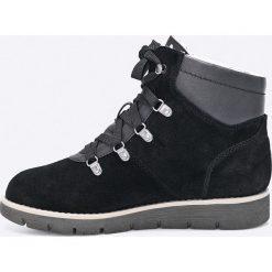 Jana - Botki. Czarne buty zimowe damskie marki Mohito, na obcasie. W wyprzedaży za 249,90 zł.