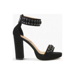 Sandały czarne Ariadna. Fioletowe sandały damskie marki Badura. Za 151,99 zł.