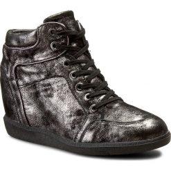 Sneakersy CARINII - B3744 I23-F99-PSK-B14. Czarne sneakersy damskie Carinii, z materiału. W wyprzedaży za 249,00 zł.