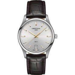 PROMOCJA ZEGAREK CERTINA GENT QUARTZ C022.610.16.031.01. Szare zegarki męskie marki CERTINA, ze stali. W wyprzedaży za 1306,80 zł.