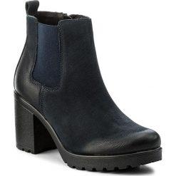 Botki LASOCKI - 1914-08 Granatowy 1. Niebieskie buty zimowe damskie Lasocki, z nubiku. Za 229,99 zł.