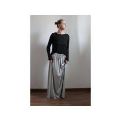 Długa zwiewna spódnica szary melanż. Szare długie spódnice Szarymary, na lato, s, melanż, z gumy. Za 119,00 zł.