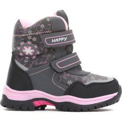 Buty dziecięce: Szare Śniegowce Disobedient