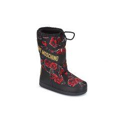 Śniegowce Love Moschino  KARIAN. Czarne buty zimowe damskie marki Love Moschino. Za 611,10 zł.