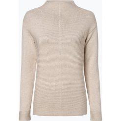 Marc O'Polo - Sweter damski, beżowy. Brązowe swetry klasyczne damskie Marc O'Polo, xs, z dzianiny, polo. Za 439,95 zł.