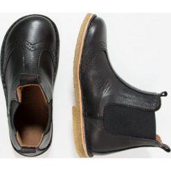 Bisgaard Botki black. Czarne buty zimowe damskie Bisgaard, z materiału. W wyprzedaży za 219,45 zł.