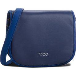 Torebka NOBO - NBAG-F1112-C013 Granatowy. Niebieskie listonoszki damskie marki Nobo, ze skóry ekologicznej. W wyprzedaży za 109,00 zł.