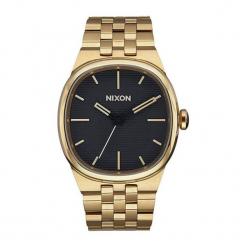 """Zegarek """"A978-510-00"""" w kolorze złoto-czarnym. Czarne, analogowe zegarki męskie NIXON & ESPRIT, ze stali. W wyprzedaży za 539,95 zł."""