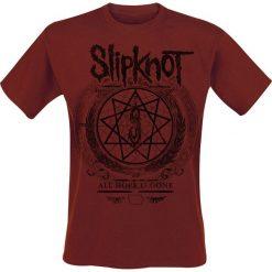 Slipknot Blurry T-Shirt ciemnoczerwony. Czerwone t-shirty męskie Slipknot, l. Za 74,90 zł.