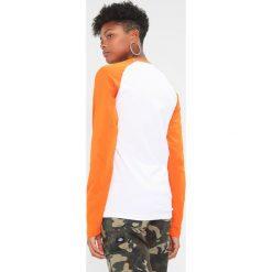 Bluzki asymetryczne: Dickies BASEBALL Bluzka z długim rękawem energy orange
