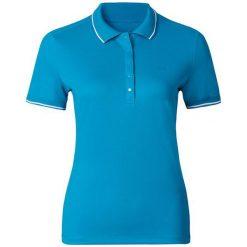 Odlo Koszulka Polo shirt s/s TOUR r.S (527661). Niebieskie topy sportowe damskie Odlo, s. Za 199,95 zł.