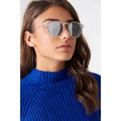 Okulary przeciwsłoneczne damskie: Le Specs Okulary przeciwsłoneczne Cubanos – Silver