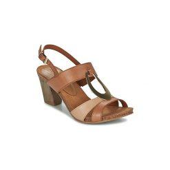 Sandały Caprice  SALAMP. Brązowe sandały damskie Caprice. Za 247,20 zł.