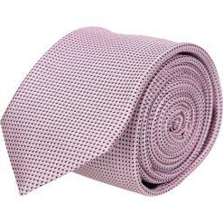 Krawaty męskie: krawat platinum róż classic 209