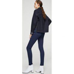 Mango - Jeansy Paty. Niebieskie jeansy damskie rurki marki Mango, z bawełny. Za 89,90 zł.