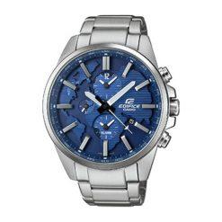 """Zegarki męskie: Zegarek """"ETD-300D-2AVUEF"""" w kolorze srebrno-niebieskim"""