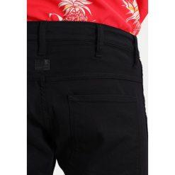 GStar 5620 3D SUPER SLIM Jeans Skinny Fit rinsed. Czarne jeansy męskie G-Star. W wyprzedaży za 375,20 zł.
