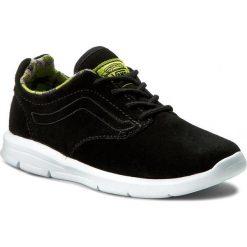 Sneakersy VANS - Iso 1.5 VN0A2XRMAT4 (Camo) Black/White. Czarne trampki chłopięce marki Vans, z materiału, na sznurówki. W wyprzedaży za 189,00 zł.