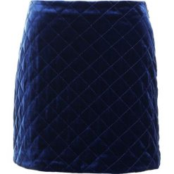 Spódniczki: Sonia by Sonia Rykiel JUPE MATELASSE FLUID VELVET Spódnica mini dark blue